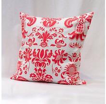 Capa para almofada - Estampa arabesco coral 40x40cm