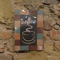 Placa Coffee - 27x19
