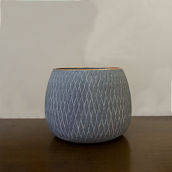 Vaso redondo 16 cm x 19 cm x 19 cm