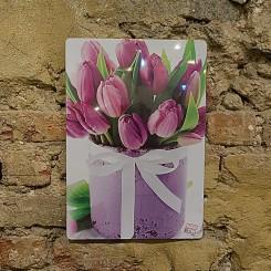 Quadro Decorativo - Tulipa 40x28