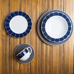 Aparelho de jantar Cobalt 30 peças