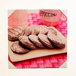 Quadro Decorativo - Biscoitos 40x40cm