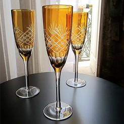 Conjunto 6 taças para champagne Ambar