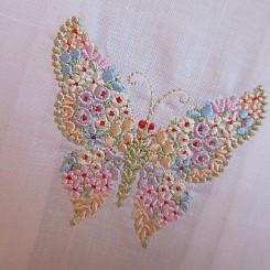 Toalha Lava Boca borboleta média