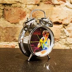 Relógio coca-cola seta amarela