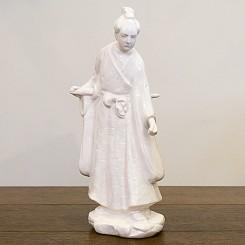Escultura senhor japonês
