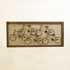 Quadro Decorativo - Bicicletas 90x40cm
